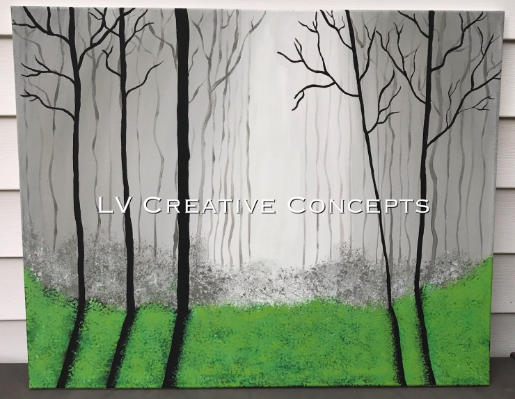Through The Trees 24x30